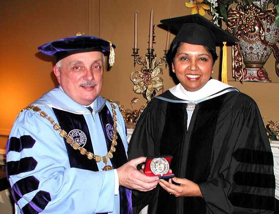 Indra K. Nooyi receives a CNR Honorary Degree