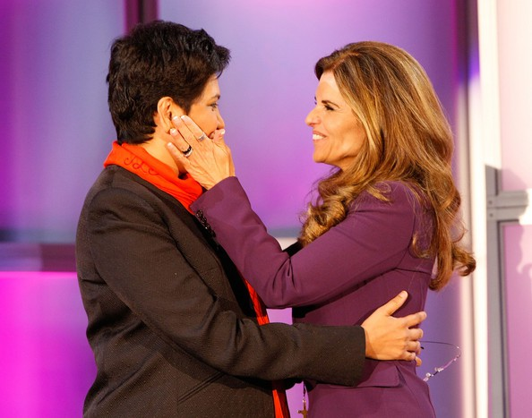 Indra Nooyi with Maria Shriver's 2008 Women's Conference