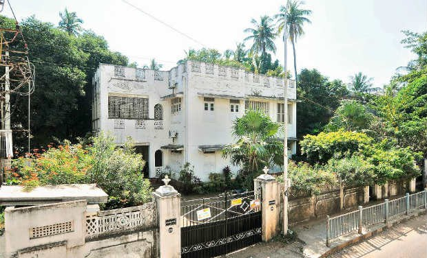 PepsiCo chief executive officer Indra Nooyi's House in Chennai
