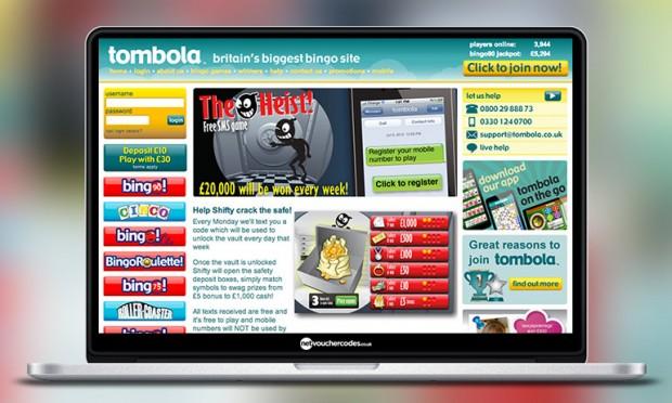 Tombola Webiste