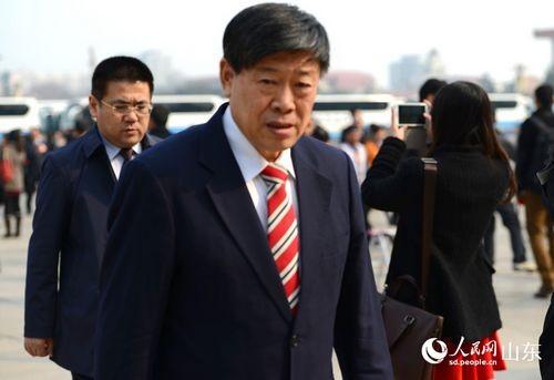 Zhang Shiping At Interview