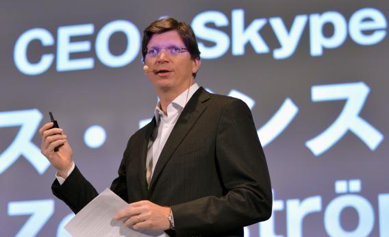 Niklas Zennstrom at Skype