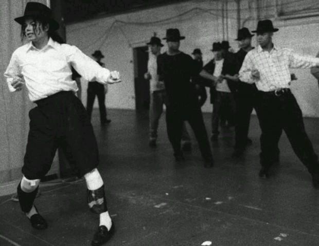 MIchael Jackson Practicing