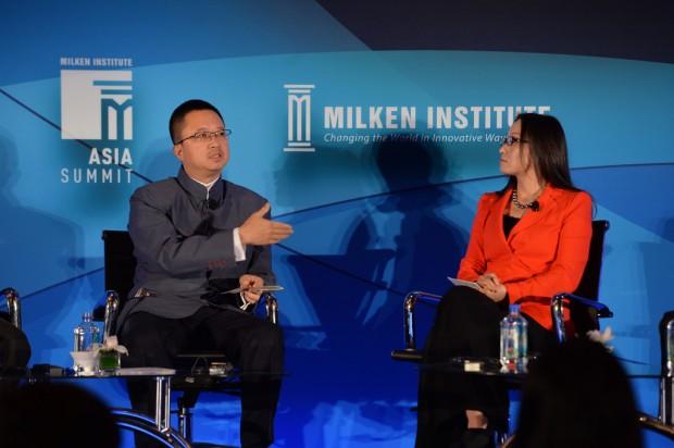 Liang Xinjun at Asia Summit