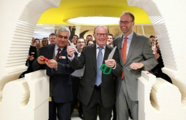 Opening Ceremony of a new LEGO Head office in London