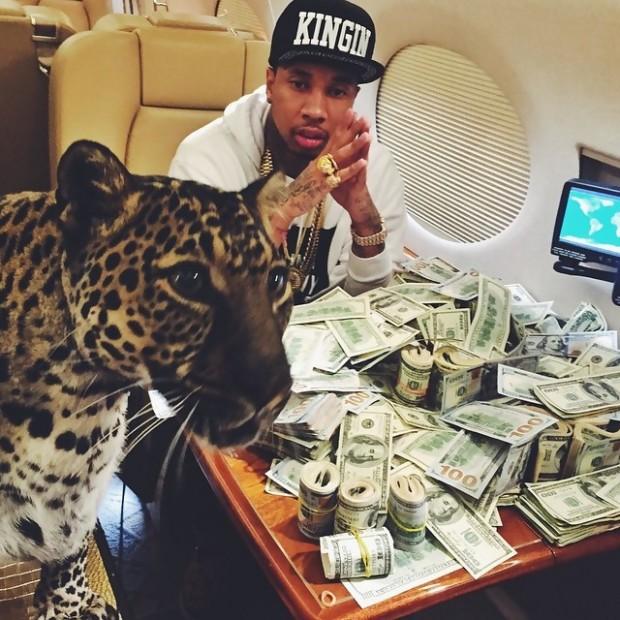 Tyga with Tiger