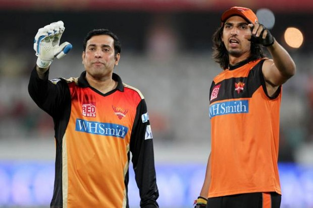 Ishant Sharma with VVS Laxman