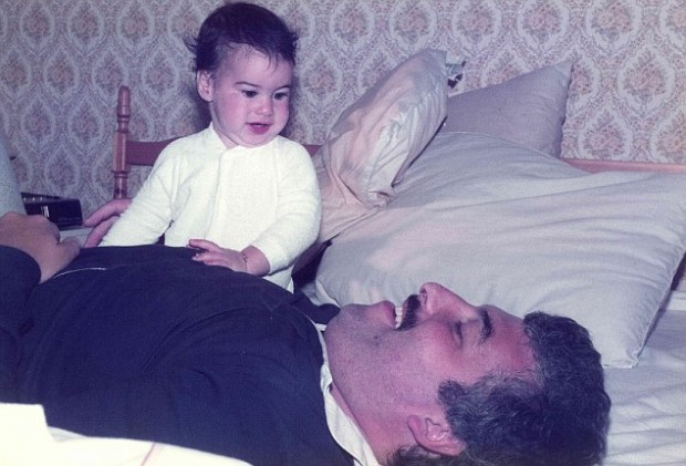 Amy Winehouse with her Father