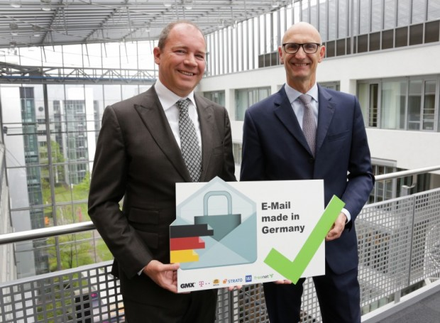 Email Made in Germany crossing 50 Million