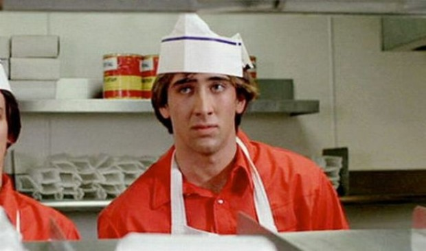 Cage debuted with Fast Times at Ridgemont High In 1982