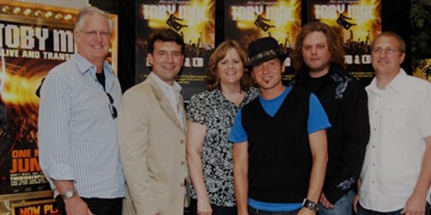 TobyMac with the Gospel Music Association