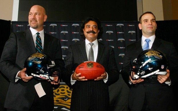 Jaguars owner Shad Khan has high hopes for the team and the city of Jacksonville
