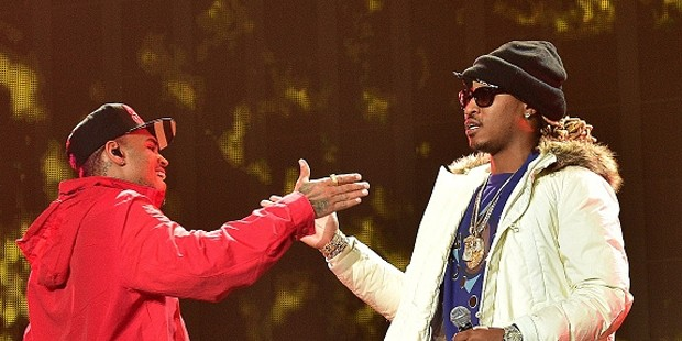 Chris Brown With Rapper Future