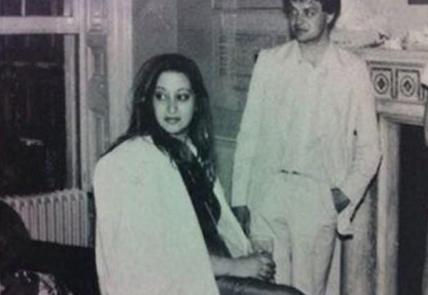 Zaha Hadid in 1970s