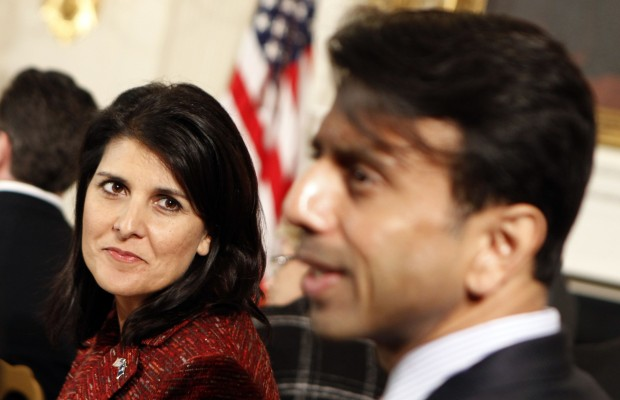 Nikki Haley With Bobby Jindal