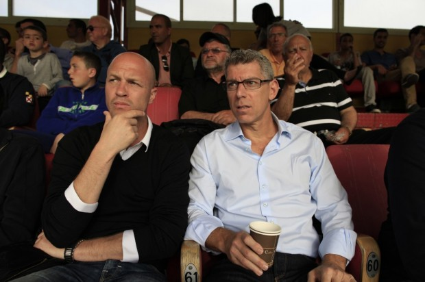 Mitchell Goldhar With Jordi Cruyff