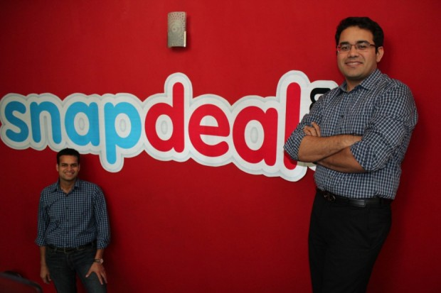 Snapdeal Co-founders Rohit Bansal and Kunal Bahl