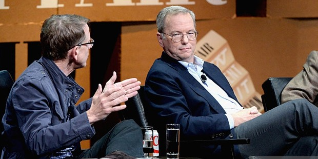 John Doerr With Eric Schmidt