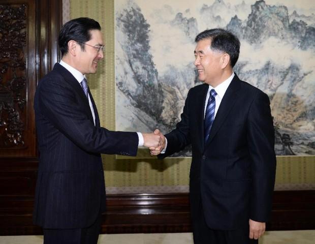 Chinese Vice Premier Wang Yang With Chinese Vice Premier Wang Yang