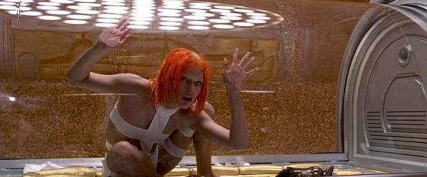 Milla Jovovich In The Movie - The Fifth Element