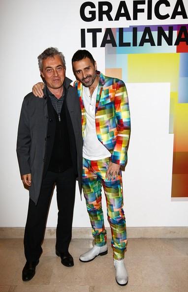 Fabio Novembre with Stefano Boeri