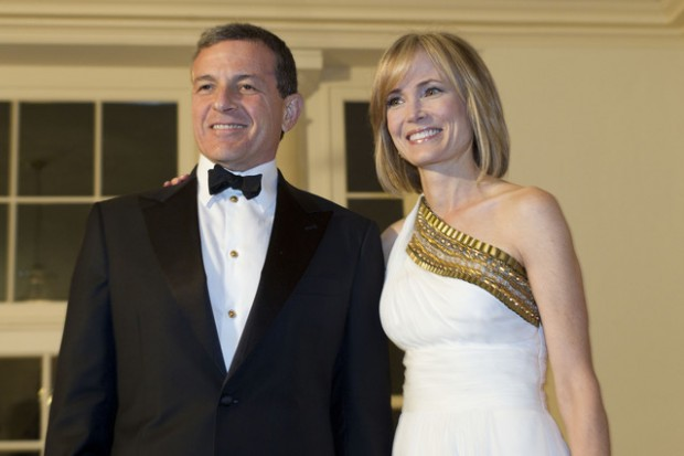 Bob Iger With His Wife Willow Bay