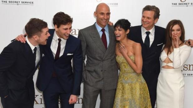 Sofia Boutella, At The Premiere of Kingsman: The Secret Service