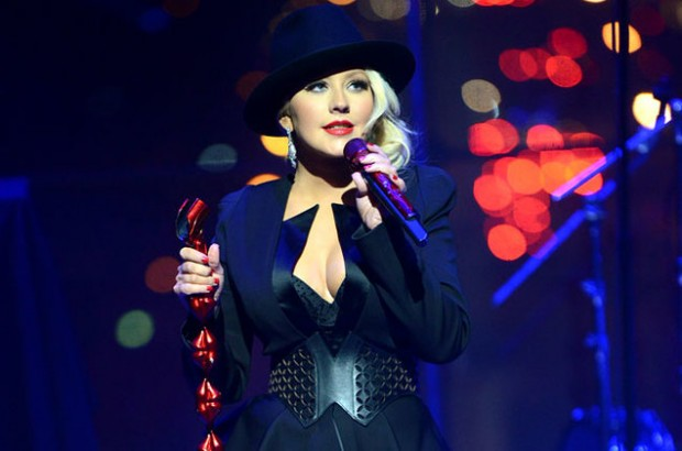 Christina Aguilera performs at the TIME 100 Gala