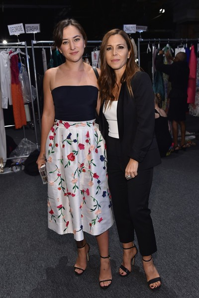 Monique Lhuillier with Zelda Rae Williams