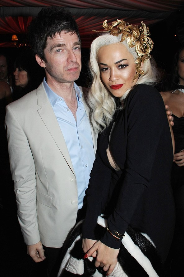 Rita Ora with Noel Gallagher