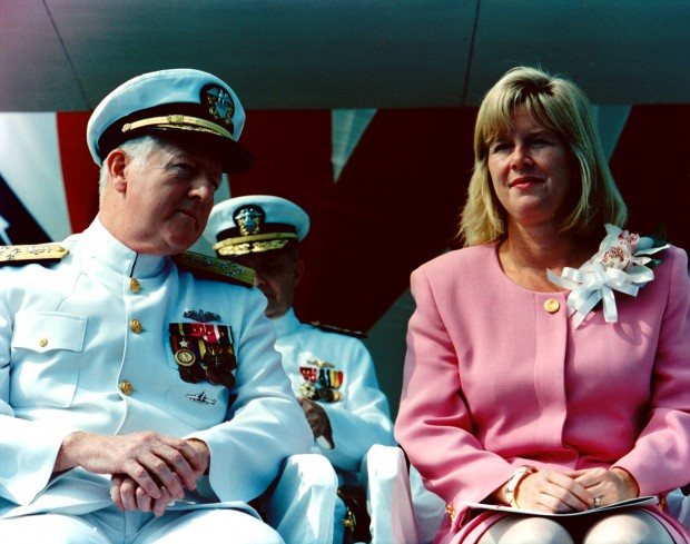 ADM DeMars chats with Tipper Gore in 1994