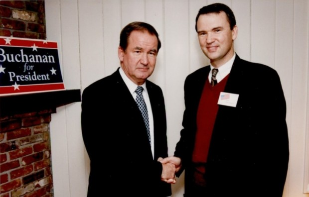 Dale christensen Meets Pat Buchanan