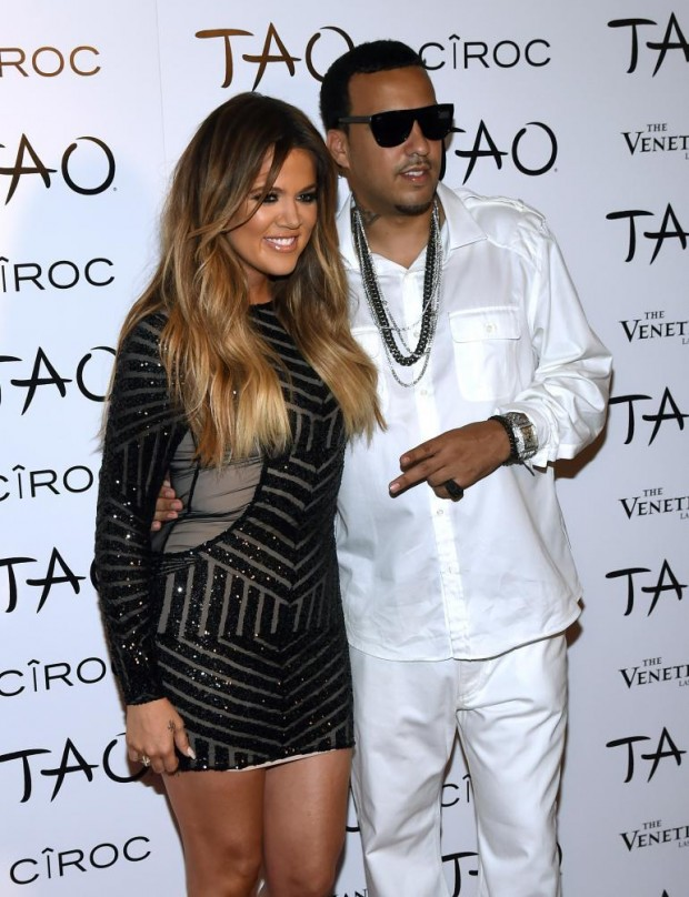 kKhloe Kardashian With French Montana