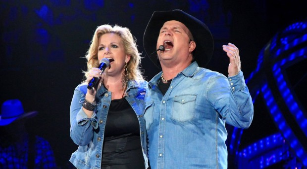Garth Brooks and Trisha Yearwood perform Thursday night at Target Center in Minneapolis