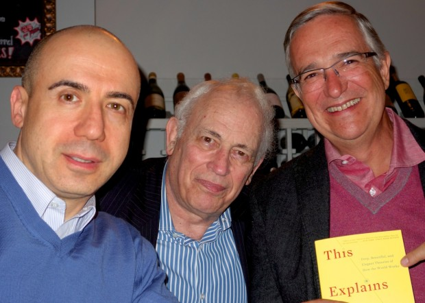 Yuri Milner, Technology Investor, Science Philanthropist, John Brockmn with Edage, Ricardo Salinas