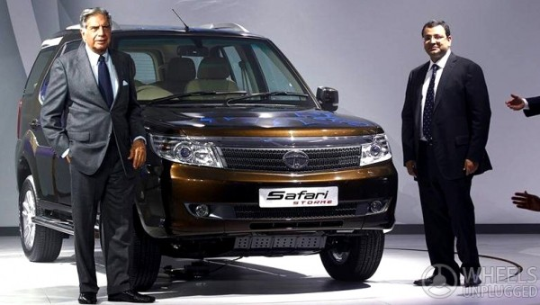 Ratan Tata At the Launch Of New Safari