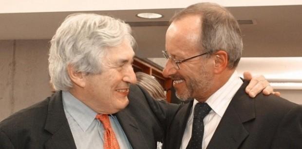 Stephan Schmidheiny meets James Wolfensohn