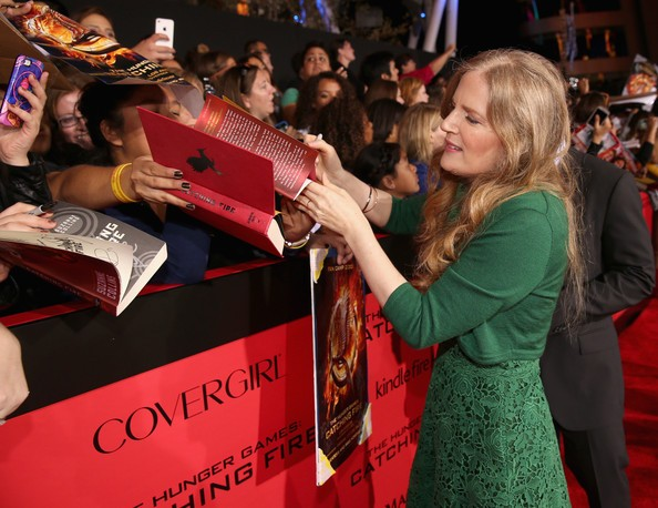 Suzanne at 'The Hunger Games: Catching Fire Red Carpet