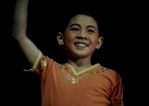 Little Jet Li in his Childhood