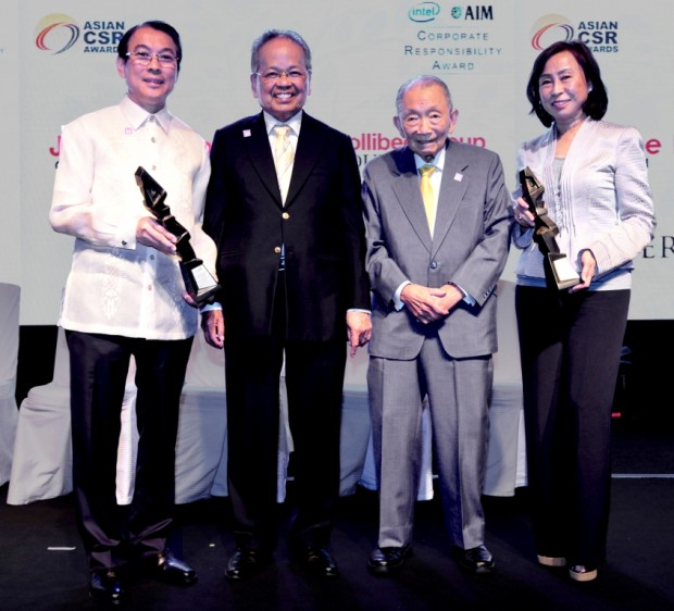 Tony Tan at Asian CSR Awards