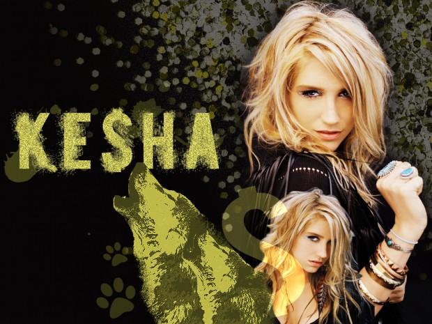 Kesha On Album Cover