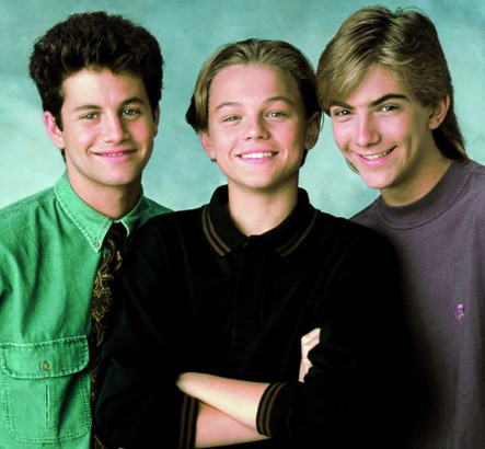 Kirk Cameron, Leonardo DiCaprio And Jeremy Miller