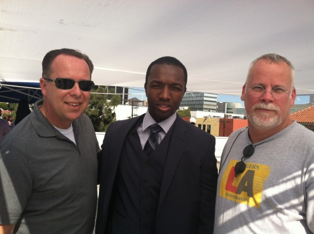 Tim Marcia, Actor Jamie Hector And Michael Connelly