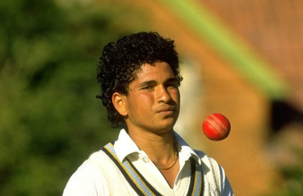 Sachin at the Age of 16