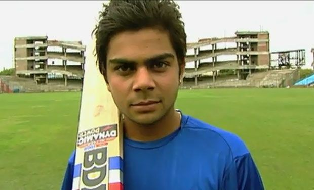 Virat at an Age of 18 Years