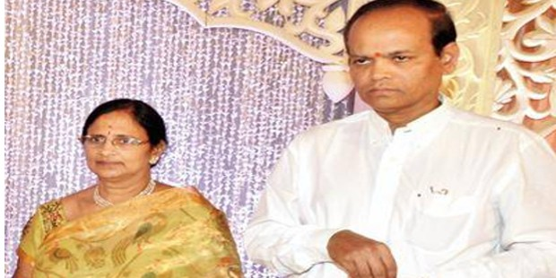 Ramprasad Reddy And His Wife