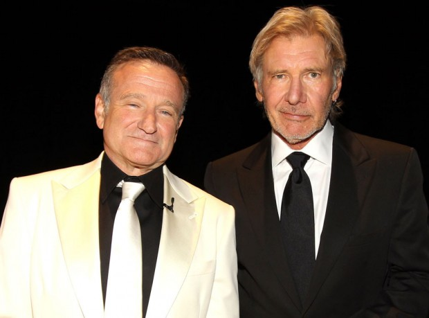 Harrison Ford with Robin Williams