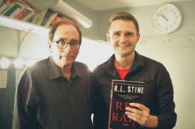 R.L. Stine With Dave Herman