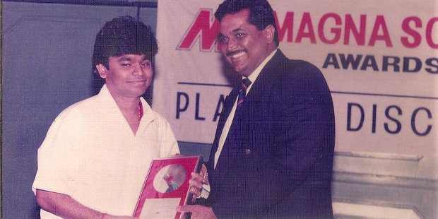 AR Rahman in His Young Career Days