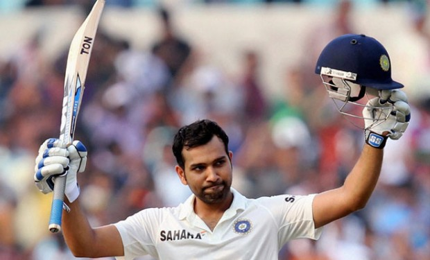 Rohit Sharma First Test Century